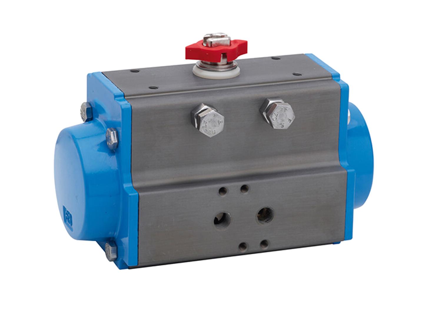 Pneumatic/Gas Direct Rack & Pinion